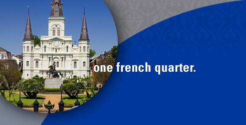 One French Quarter. One Cleaners.